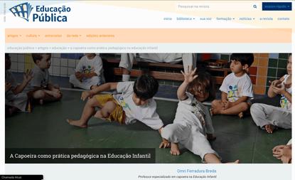 Artigos sobre Capoeira de Angola