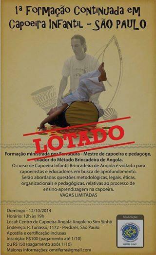 Formação Continuada em Capoeira Infantil