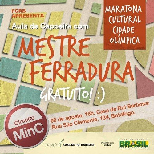Flyer Maratona Cultural